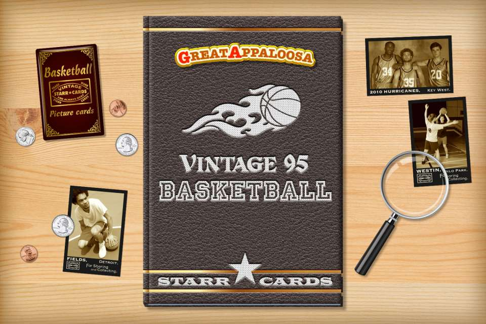 Make your own vintage basketball card with Starr Cards.